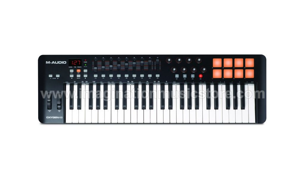 M-Audio Oxygen 49 MKIV VIP Performance Keyboard Controller ...