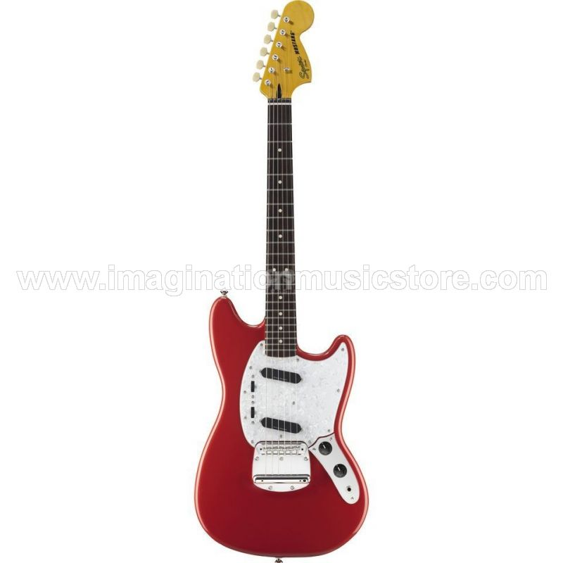 Squier Vintage Modified Mustang RW Fiesta Red