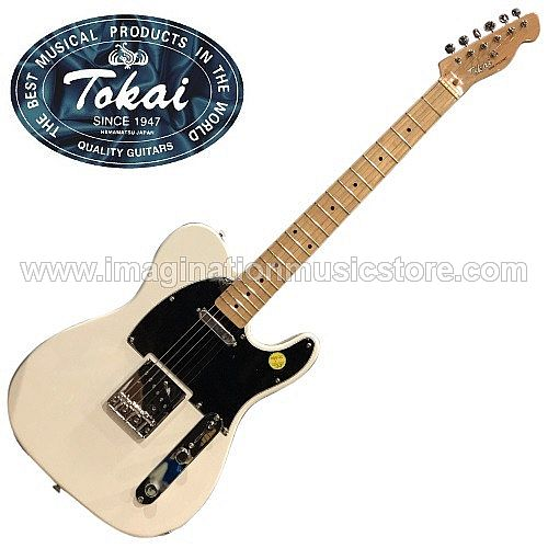 Tokai ATE-48 Breezysound Traditional Series in Olympic White with Maple Fretboard
