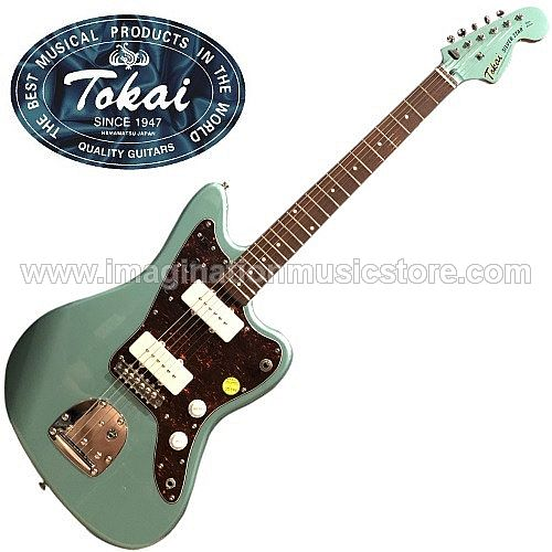 Tokai AJM-70 Silverstar Traditional Series in Ocean Turquoise Metallic