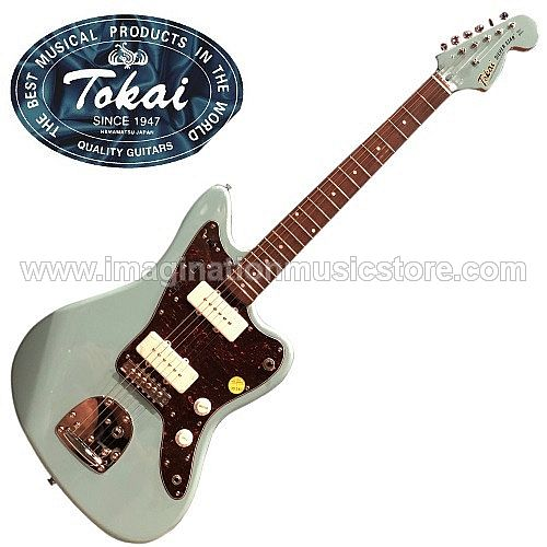 Tokai AJM-70 Silverstar Traditional Series in Sonic Blue