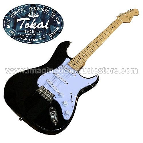 Tokai AST-48 Goldstar Sound Traditional Series in Black with Maple Fingerboard