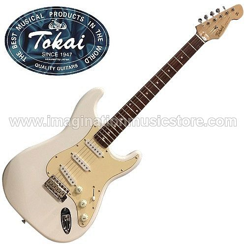 Tokai AST-48 Goldstar Sound Traditional Series in Olympic White