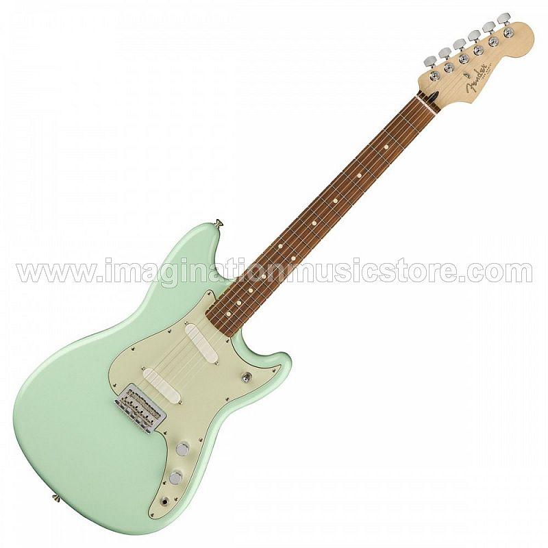 Fender Duo-Sonic - Surf Green with Pau Ferro FB