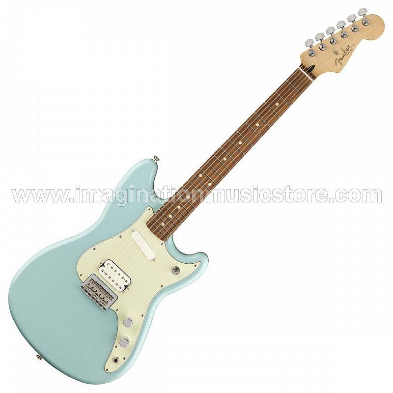 Fender Duo-Sonic HS - Daphne Blue with Pau Ferro FB