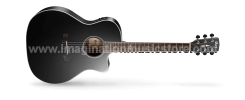 Cort GA5F-BK Acoustic Electric Black