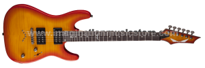 Dean Custom 350 (Available On Natural, Amber Burst, Purple, Red, and Green)