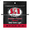 S942 Extra Light Power Wound Nickel Electric SIT String