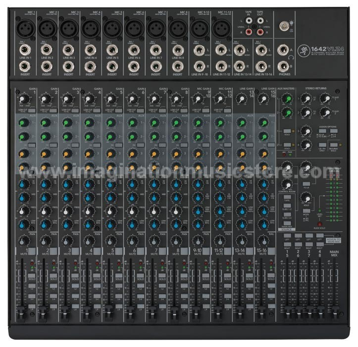 Mackie 1642-VLZ4 16-Channel/4-Bus Compact Mixer