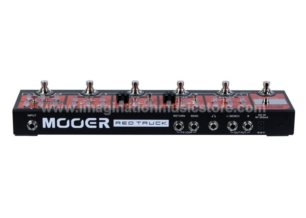 Mooer Red Truck Effect Strips