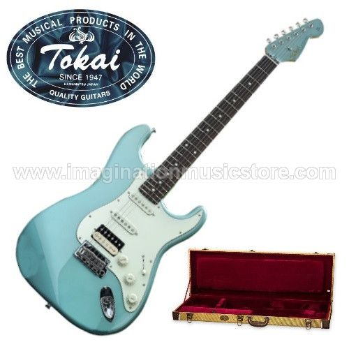 Tokai AST-96SH OTM Limited Edition Japan - Ocean Turquoise Metallic with matching headstock