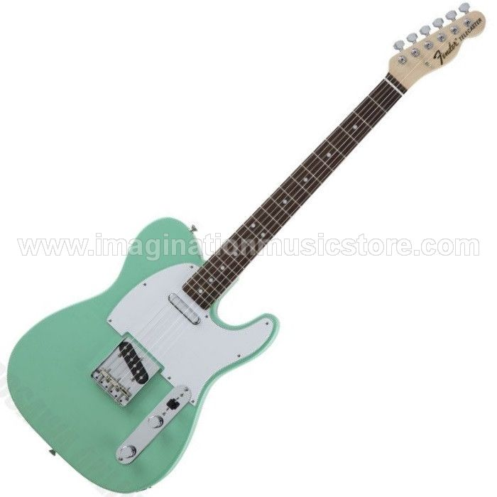Fender Japan Traditional 70s Ash Telecaster RW Surf Green