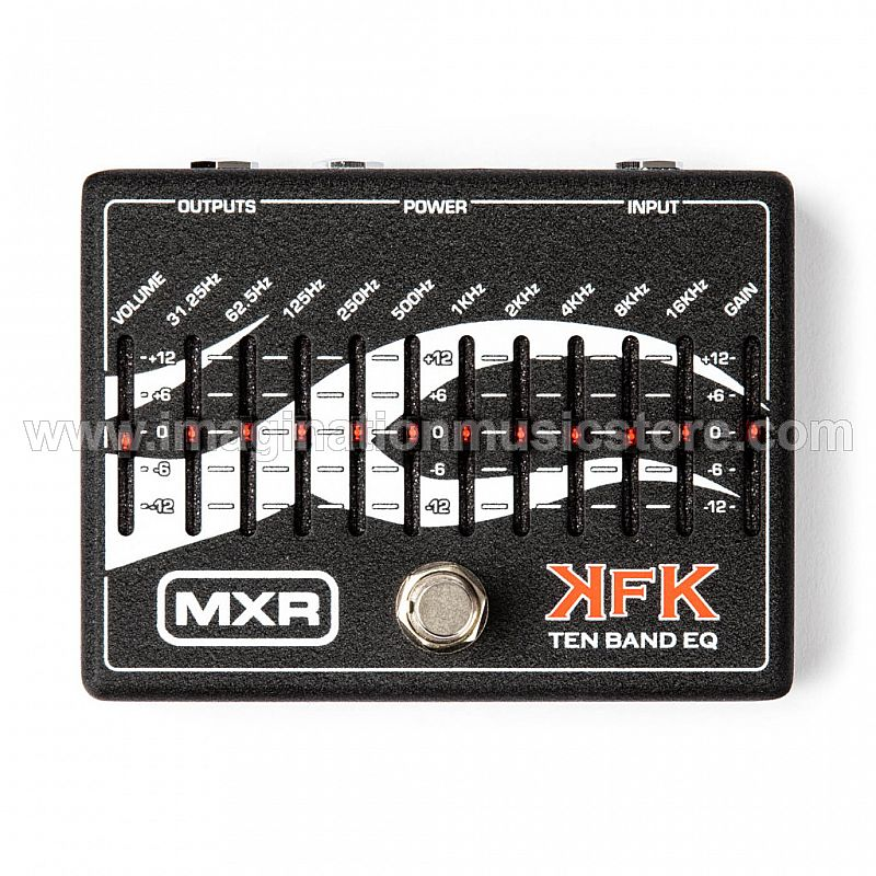 MXR KFK-1 Kerry King Ten Band Equalizer