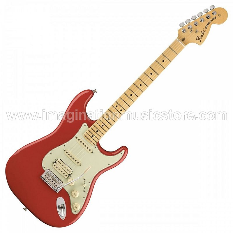 Fender American Special Stratocaster HSS MN in Fiesta Red