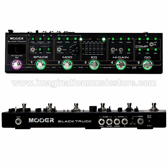 Mooer Black Truck Effect Strips