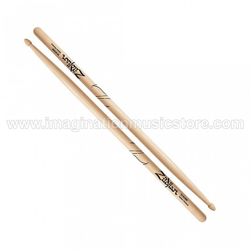 Zildjian Z5AAC 5A Acorn Tip Hickory Drumsticks w/ Natural Finish