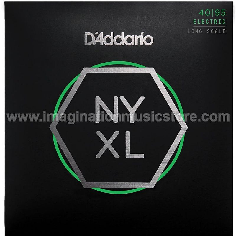 D'Addario NYXL4095 Long Scale Super Light Nickel Wound Bass Guitar String