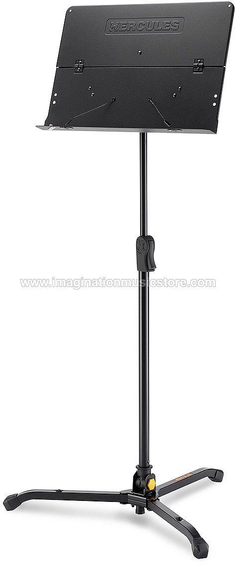 Hercule BS301B ORCHESTRA STAND, FOLDABLE DESK W/SWIVEL LEGS