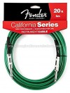 Fender California Series Instrument Cable 20 Ft 6m