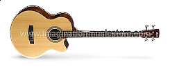 Cort SJB5F NS Natural Satin Acoustic Electric Bass
