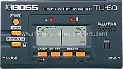Boss TU-80 Chromatic Tuner and Metronome