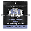 S1052 Heavy Bottom Power Wound Nickel Electric SIT String