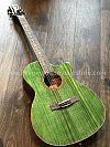 Galatasaray GT-GA10 Acoustic Electric in Transparent Green
