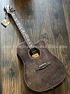 Galatasaray GT-D30 Acoustic Electric in Transparent Black with Fishman