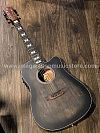Chard WD68C Acoustic Electric in Black Satin with Fishman Presys