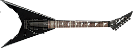 Jackson Corey Beaulieu X-Series KV 7 String in Satin Black