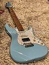 Soloking MS-1 Classic in Daphne Blue and Roasted Maple FB
