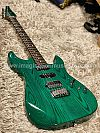 Soloking MS-1 Custom in Transparent Green with Roasted Maple Neck and Ash Body