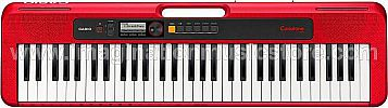 Casio Casiotone CT-S200 - Portable Digital Keyboard Red