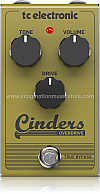 TC Electronic Cinders Overdrive Guitar Effect Pedal