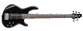 Cort Action Bass V Plus BK Electric Bass