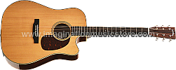 Headway Japan Tune-up Series HDC-V090SE KOA Acoustic Electric Guitar