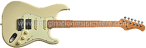 Bacchus BST-2-RSM/M Olympic White Roasted Maple Series Stratocaster Model